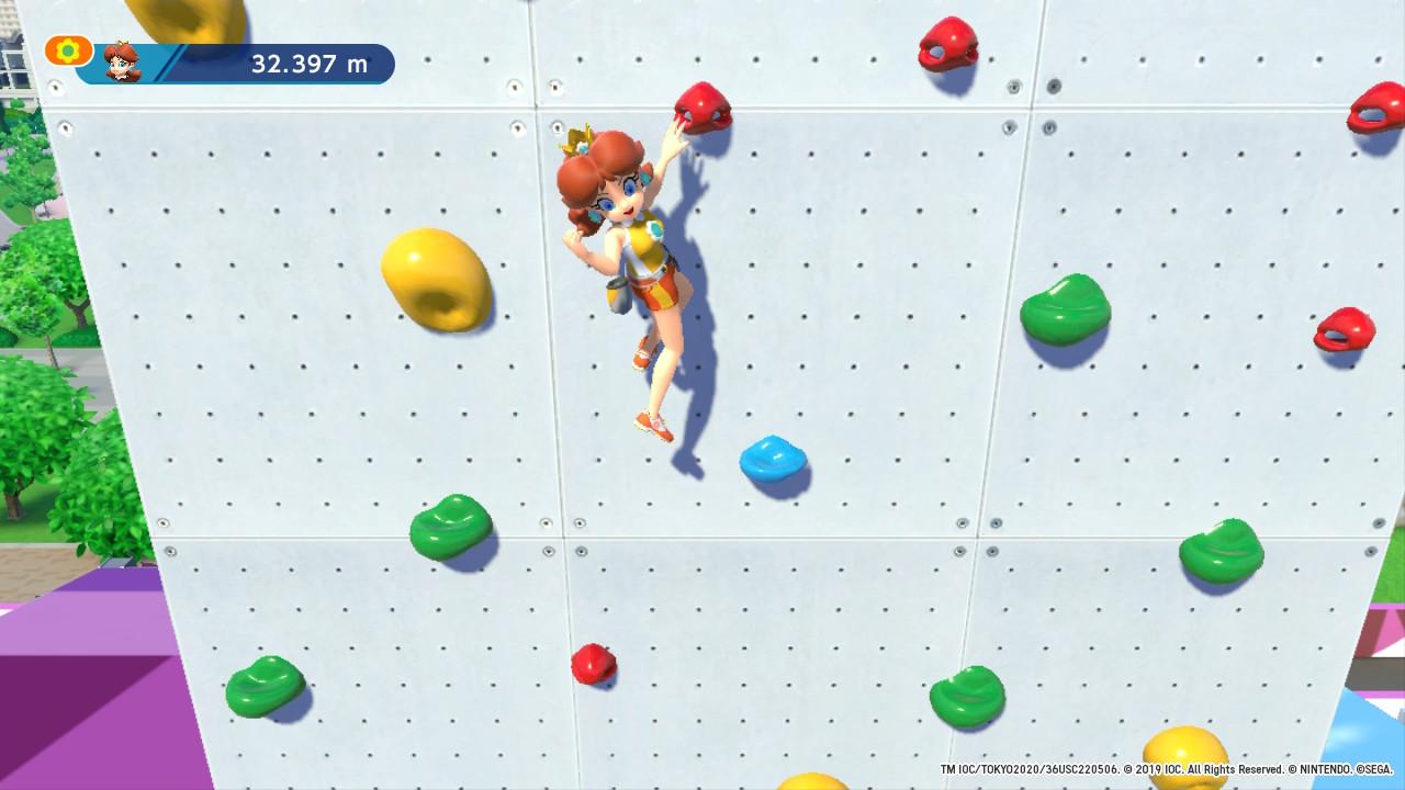 Mario et Sonic Escalade