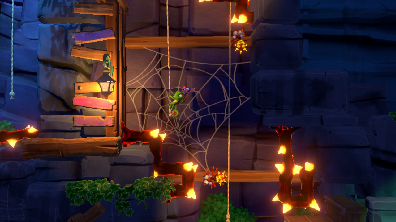 Yooka-Laylee and the Impossible Lair toile d'araignée