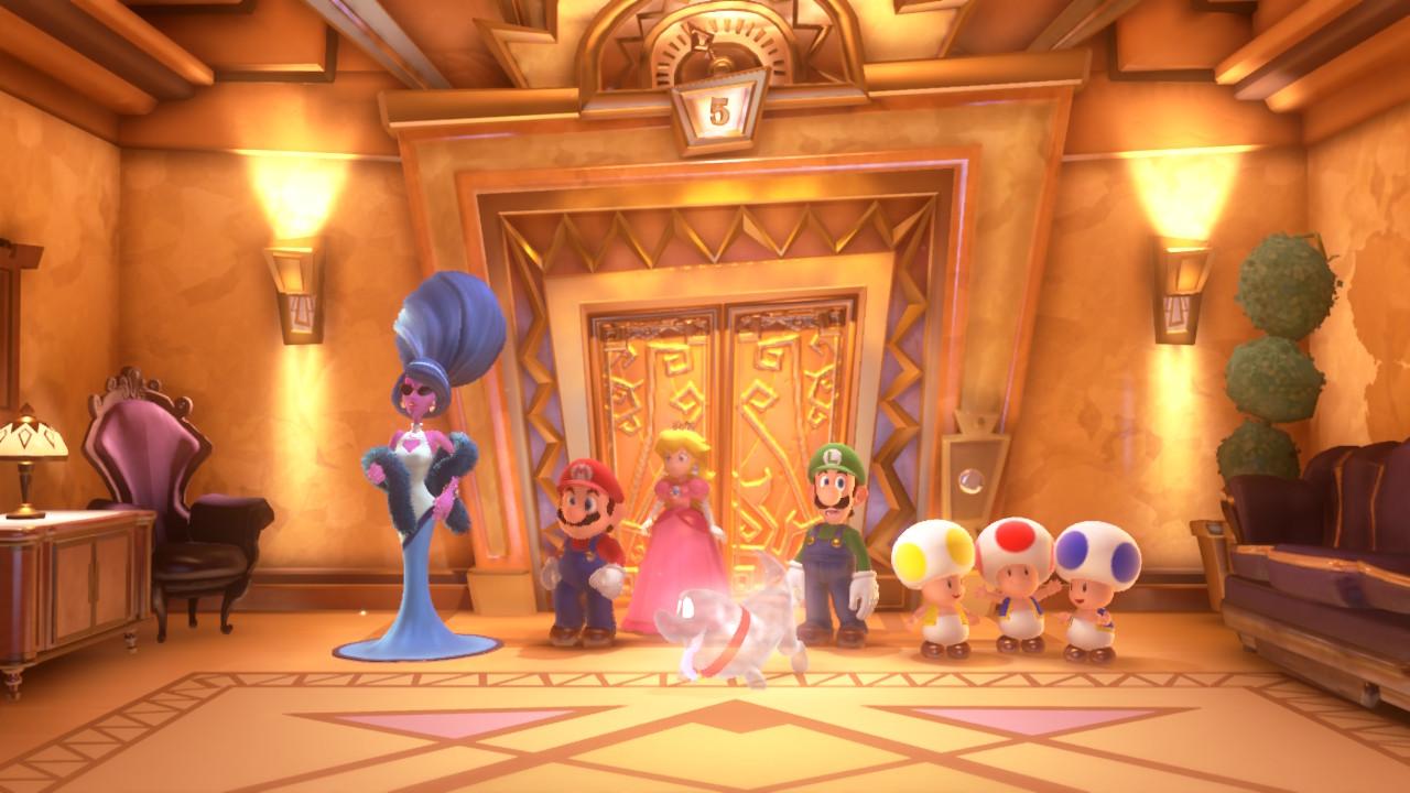 Luigi's Mansion 3 groupe