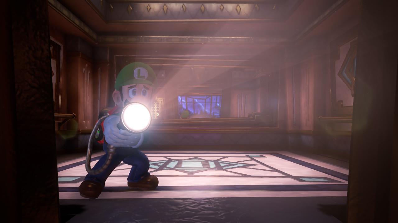Luigi's Mansion 3 Luigi a la trouille