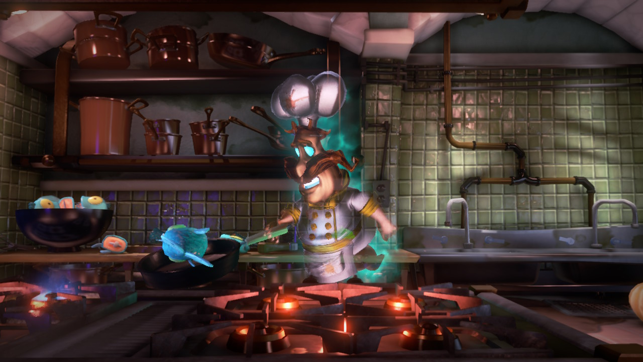 Luigi's Mansion 3 fantôme cuisine