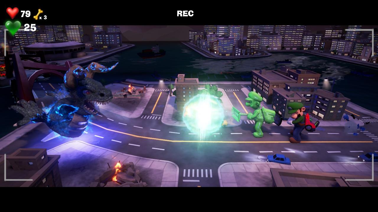 Luigi's Mansion 3 dinosaure