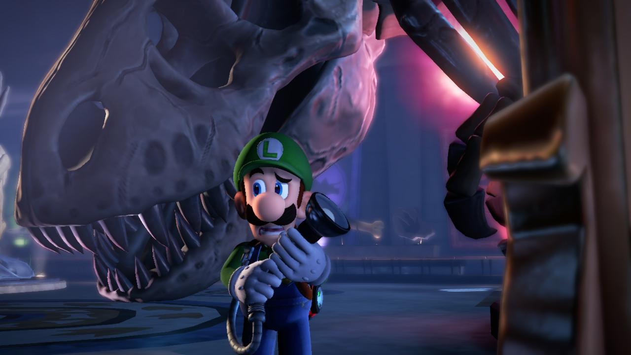 Luigi's Mansion 3 t-rex