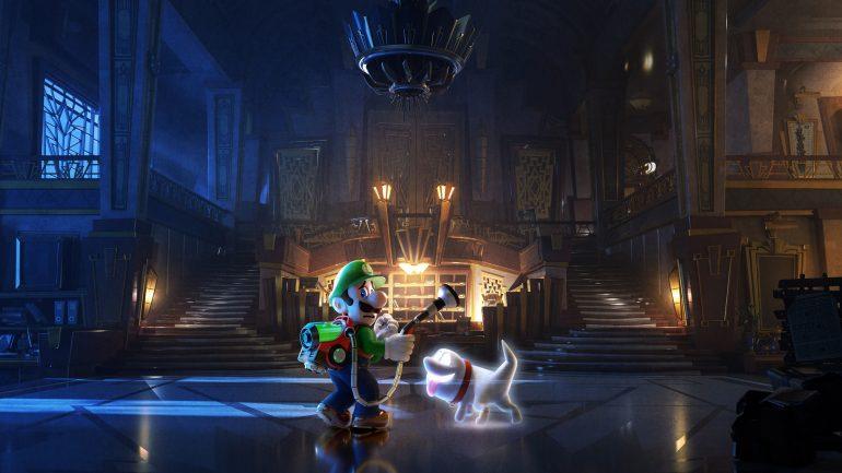 Luigi's Mansion 3 art
