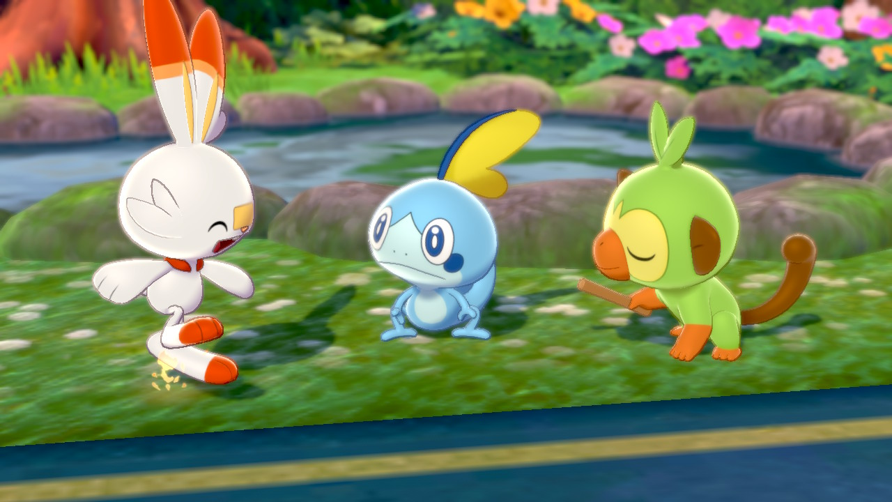 Pokémon Sword Grookey Snobble