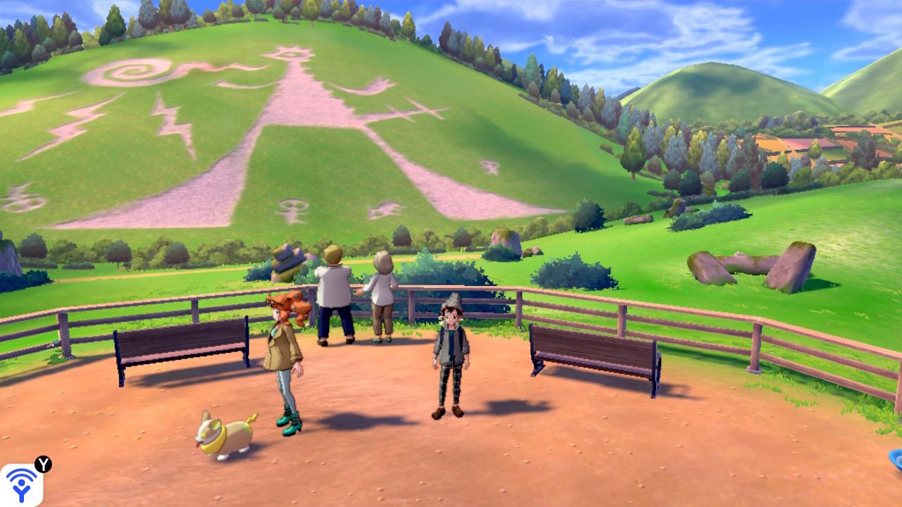 Pokémon Sword Géant de Cerne Abbas