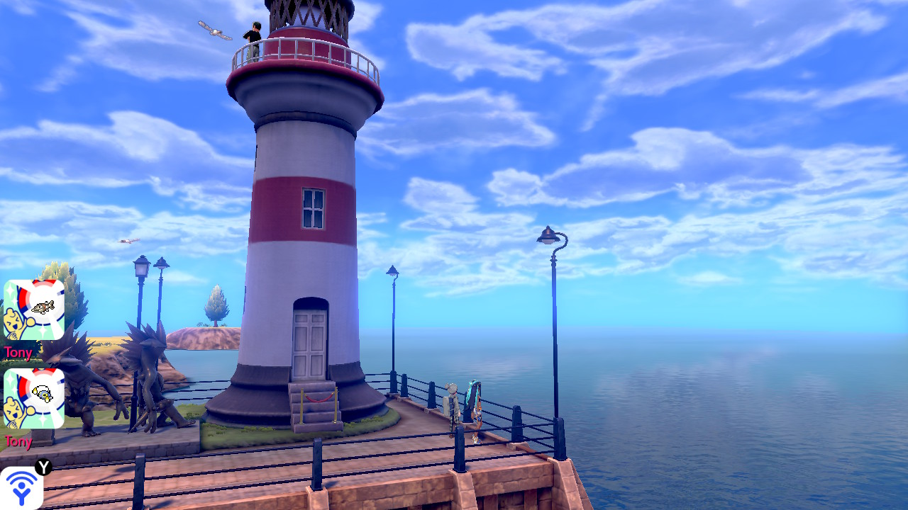 Pokémon Sword Phare