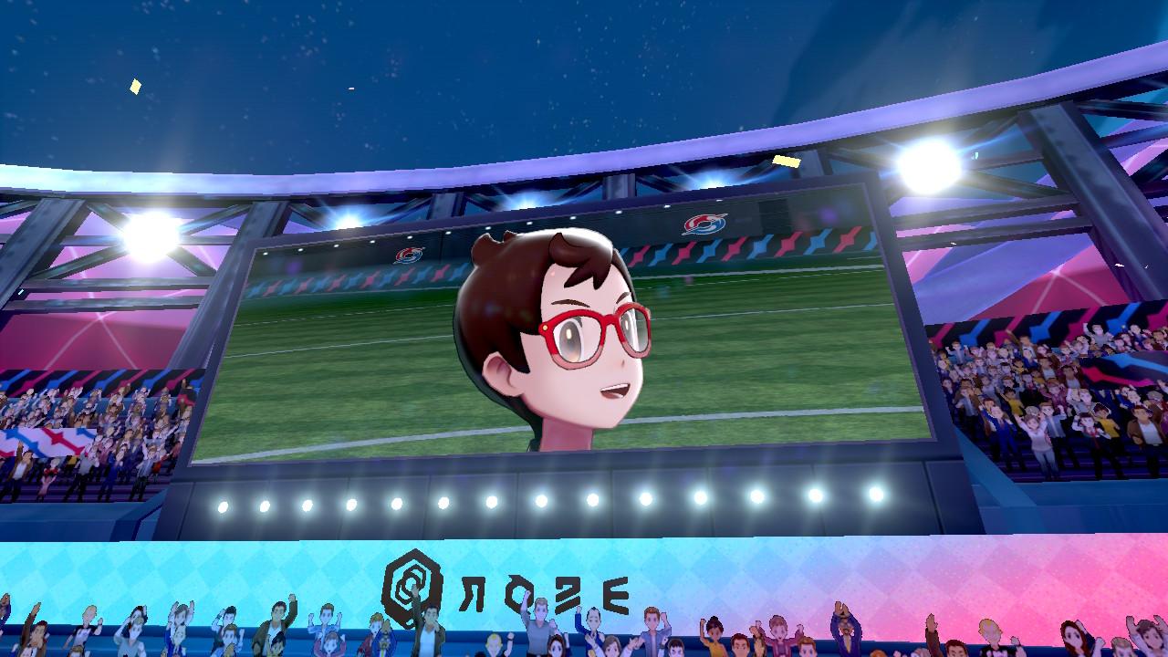 Pokémon Sword arène