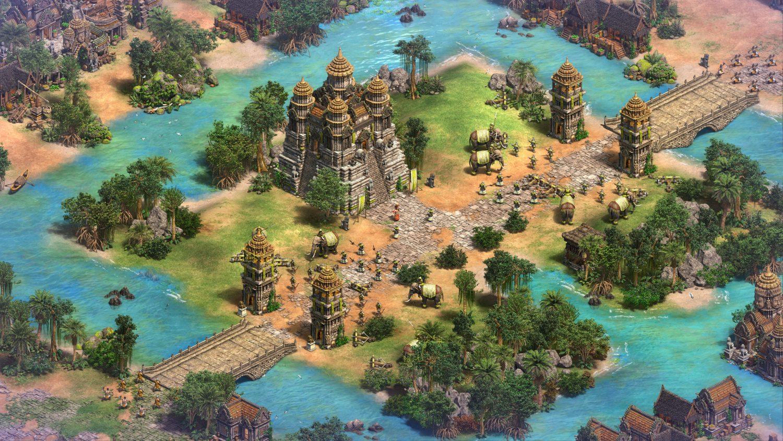 L'édition définitive d'Age Of Empires II: Définitive Edition est très réussie graphiquement parlant.