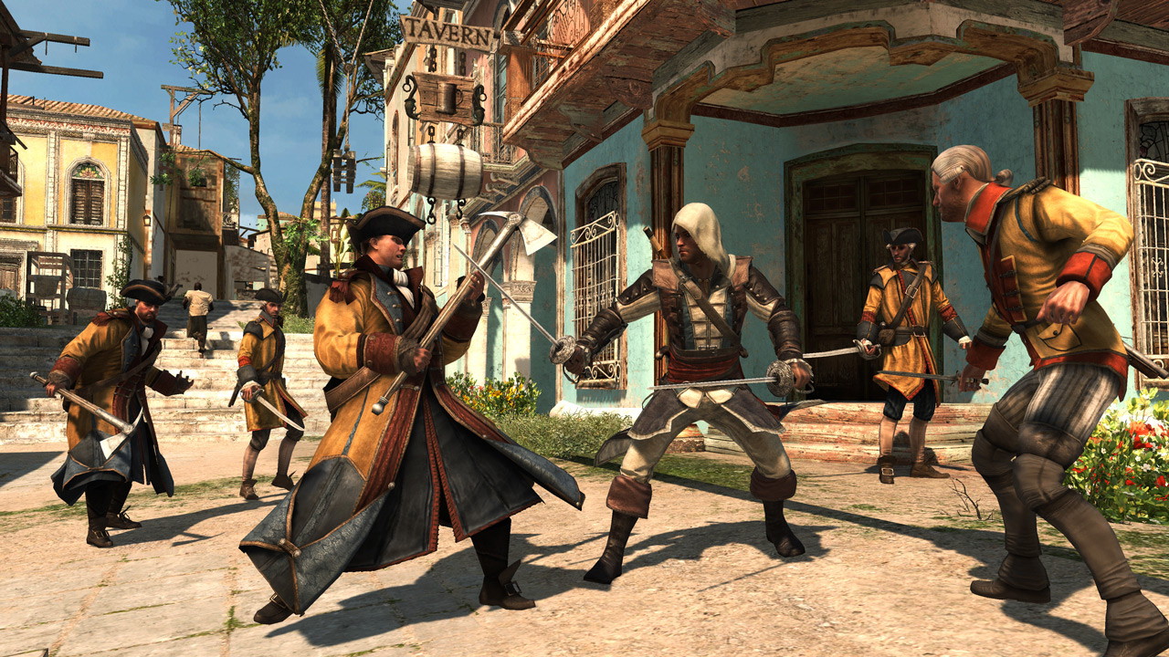 Assassin's Creed: The Rebel Collection Combat
