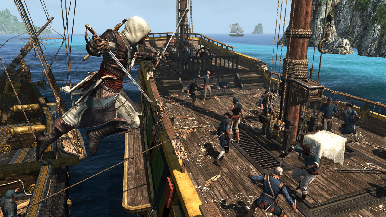 Assassin's Creed: The Rebel Collection À l'abordage