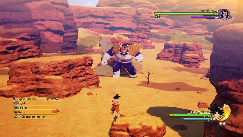 Dragon Ball Z Kakarot Vegeta Ape