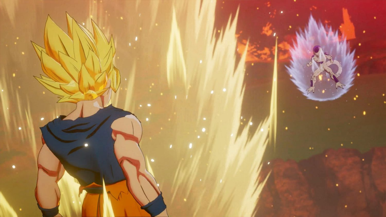 Dragon Ball Z Kakarot Goku Super Saiyan et Frieza