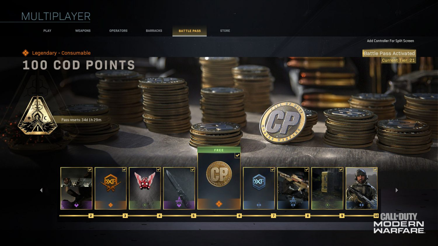 Call of Duty COD Points