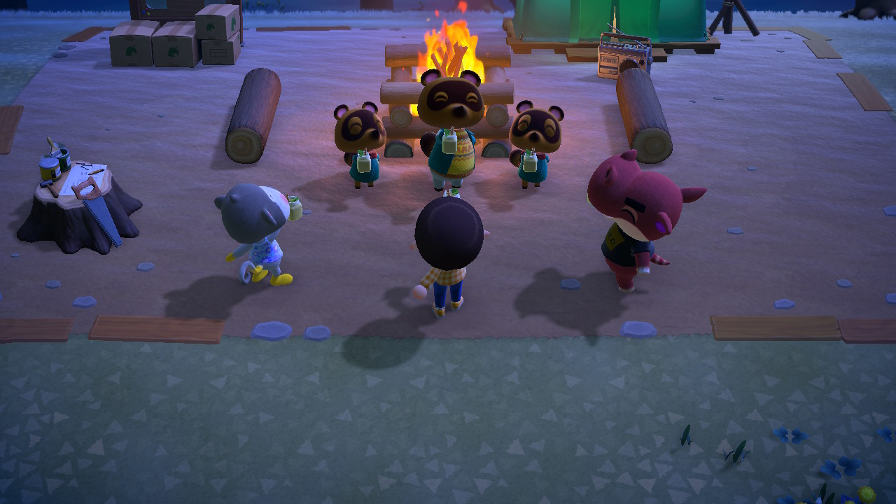 Animal Crossing: New Horizons Tom Nook