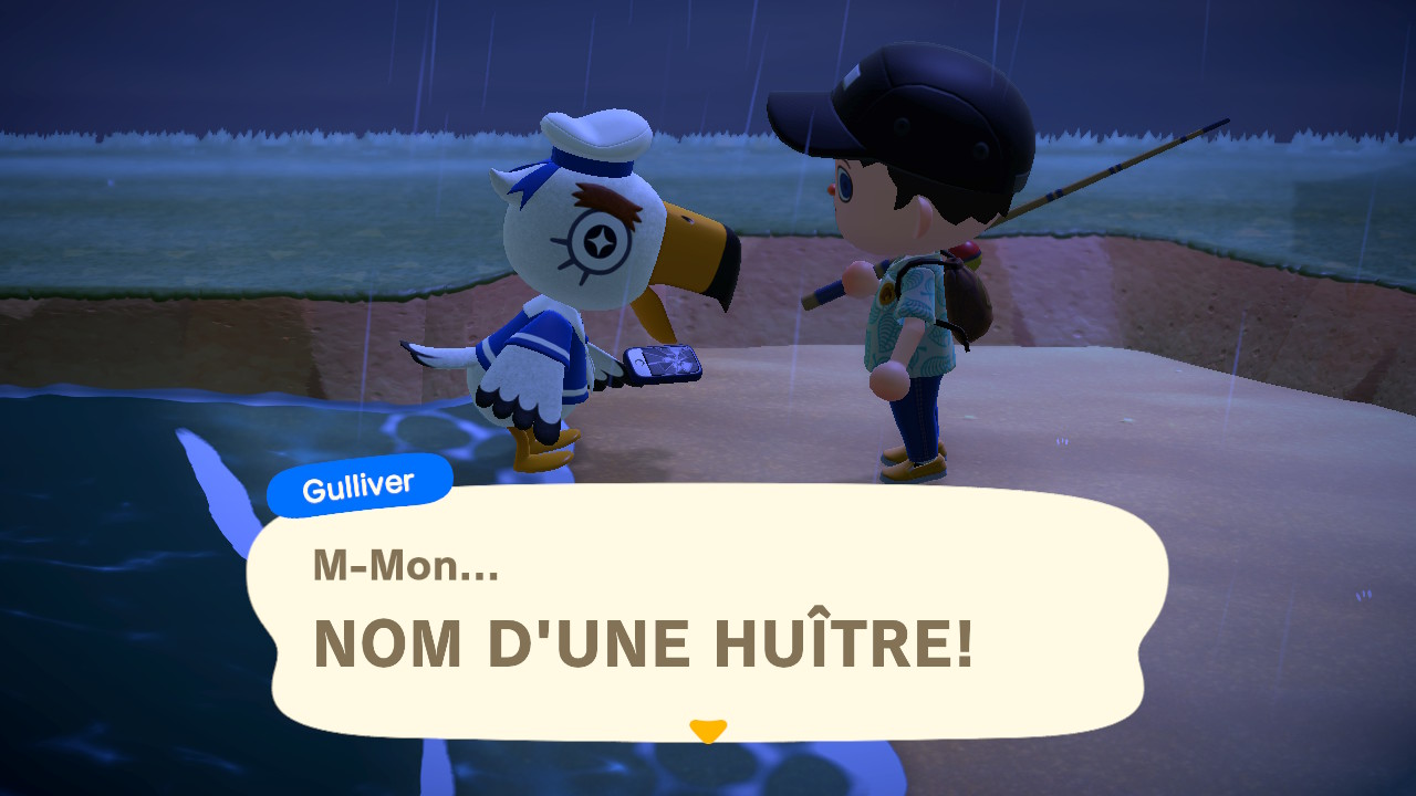 Animal Crossing: New Horizons Gulliver
