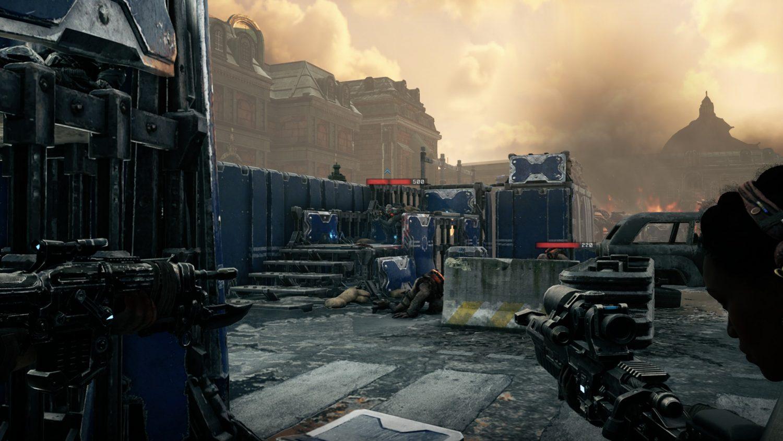 Gears Tactics 3e personne