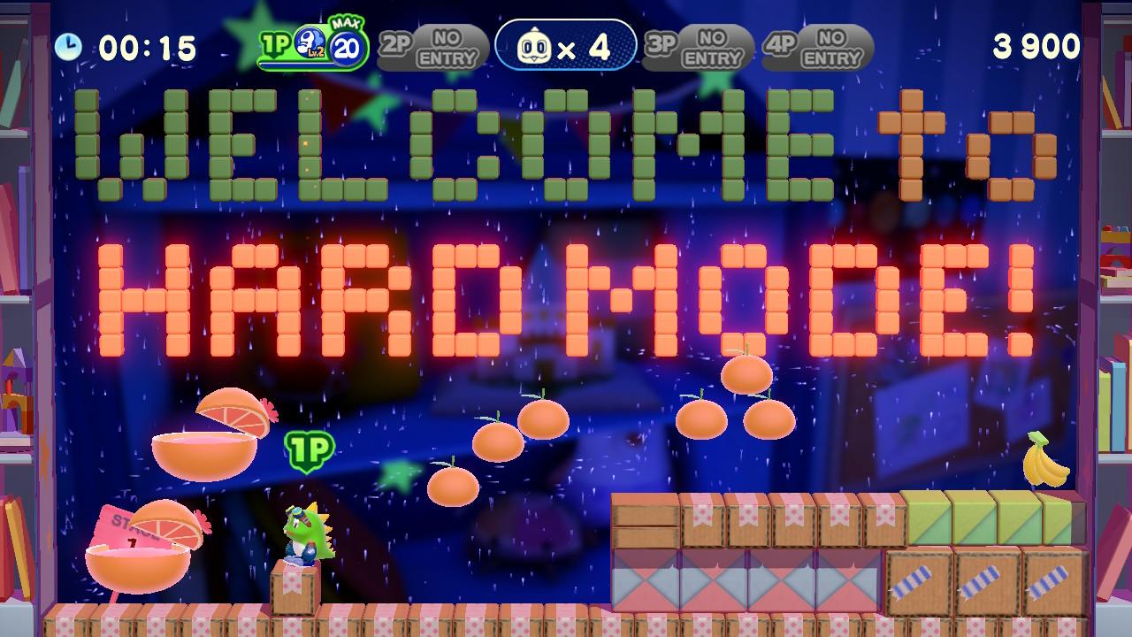 Bubble Bobble 4 Friends - Hard mode