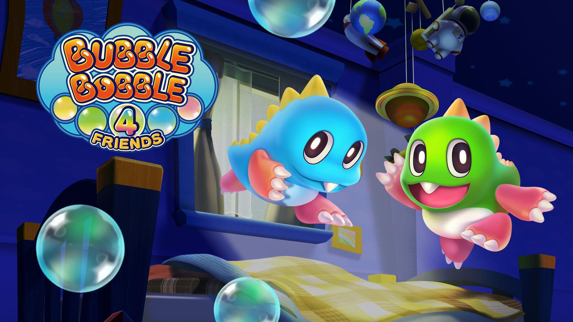 Bubble Bobble 4 Friends - Titre