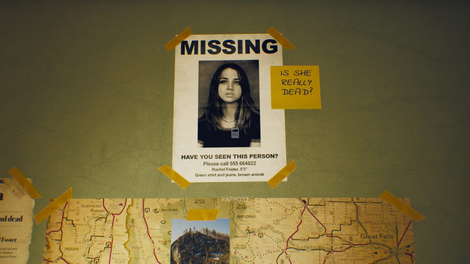 The Suicide of Rachel Foster missing