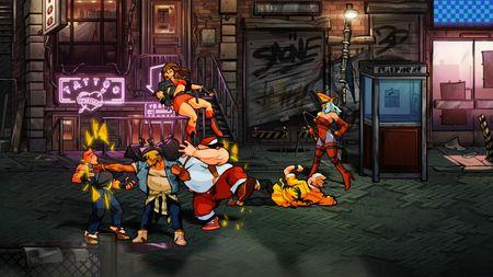 Streets of Rage 4 combat