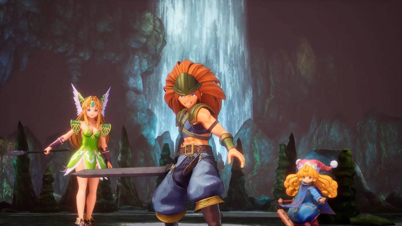 Trials of Mana trio