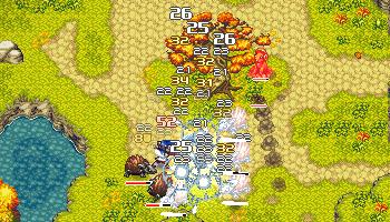 CrossCode combat