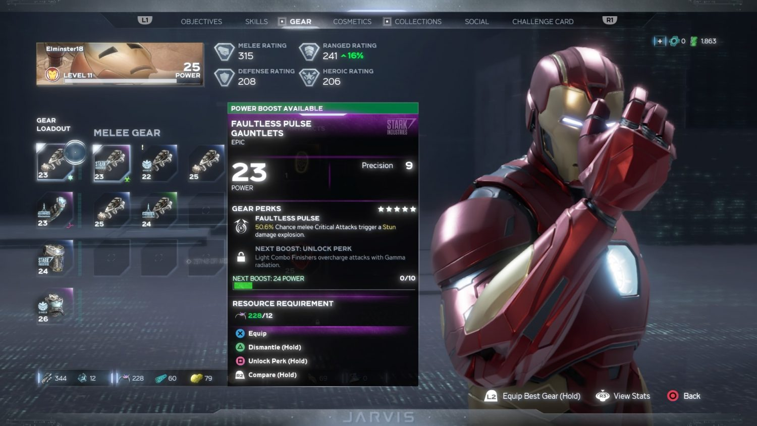 Marvel's Avengers - Inventaire