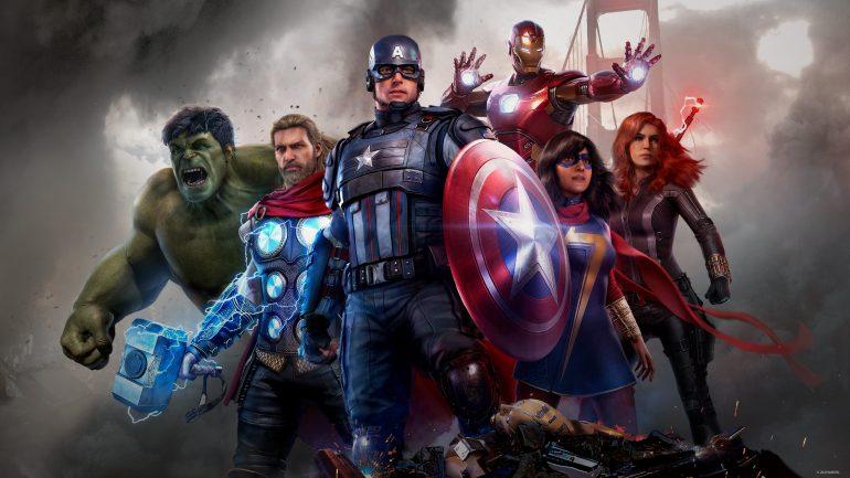 Marvel's Avengers - Titre