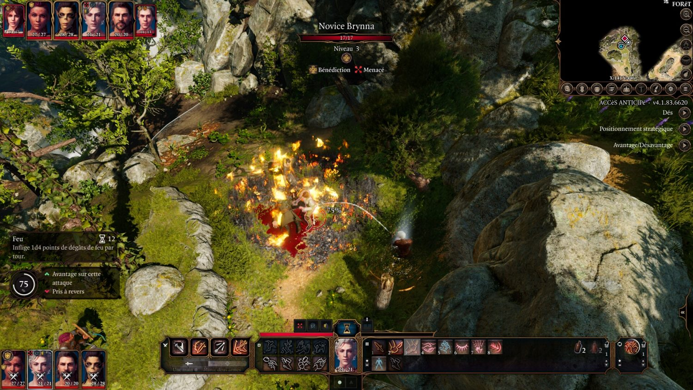 Baldur's Gate 3 effets