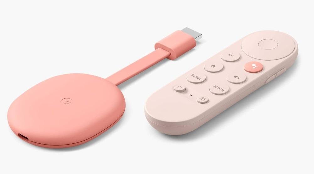 Chromecast avec Google TV Aurore