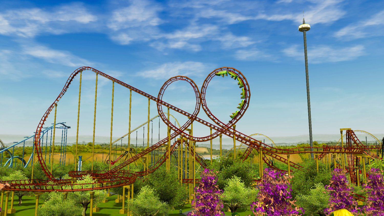 RollerCoaster Tycoon 3 coaster