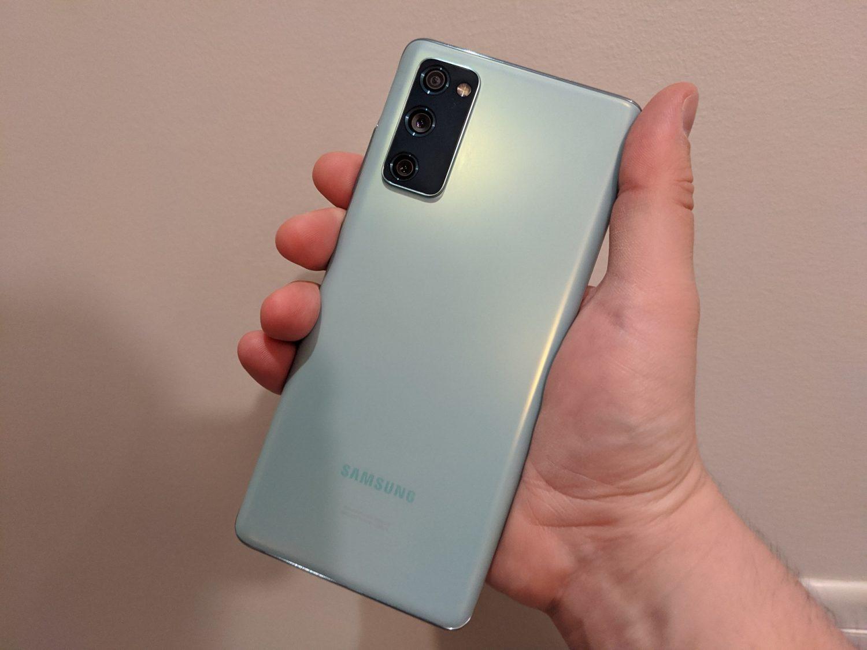 Samsung Galaxy S20 FE 5G arrière
