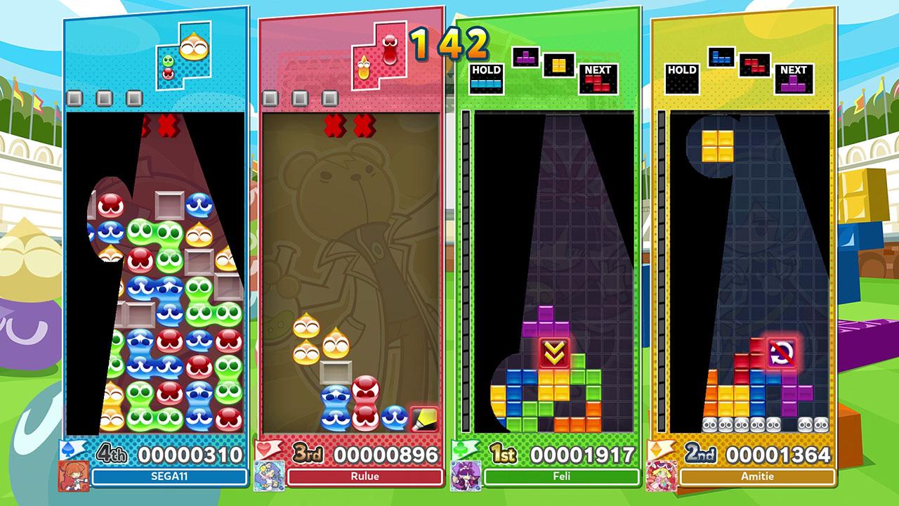 Puyo Puyo Tetris 2 multijoueur