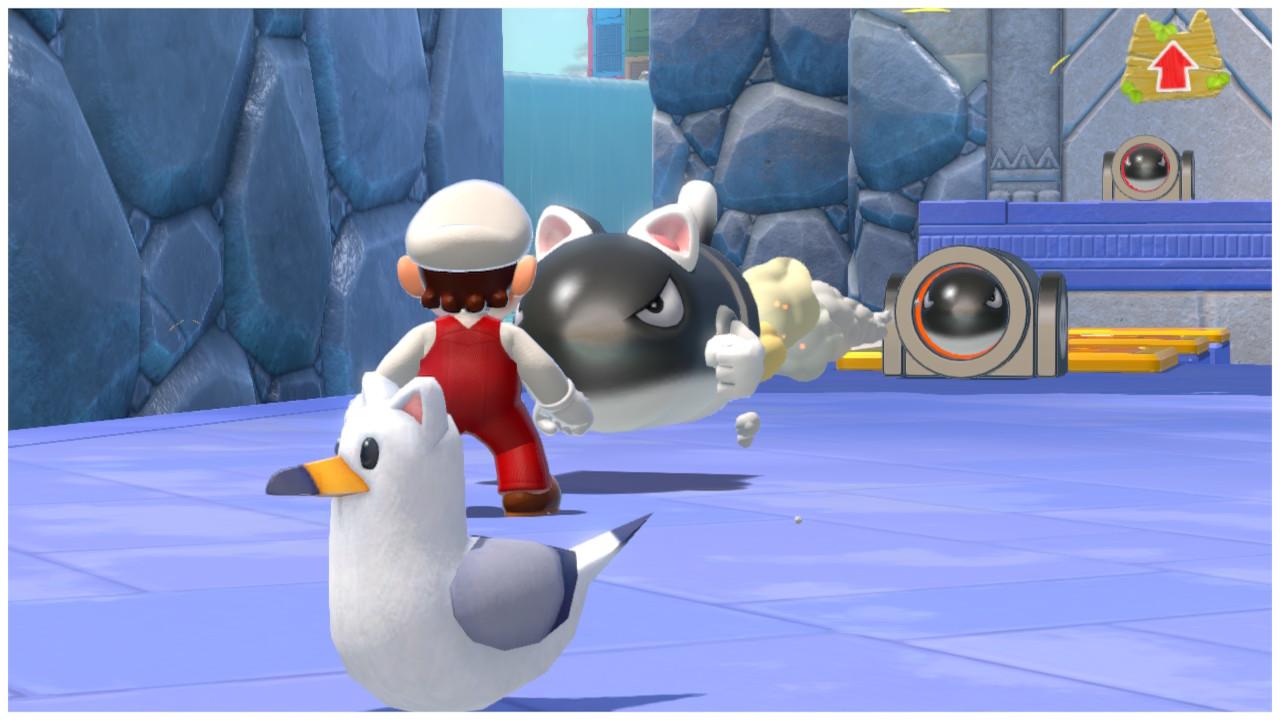 Super Mario 3D World + Bowser's Fury Cannon