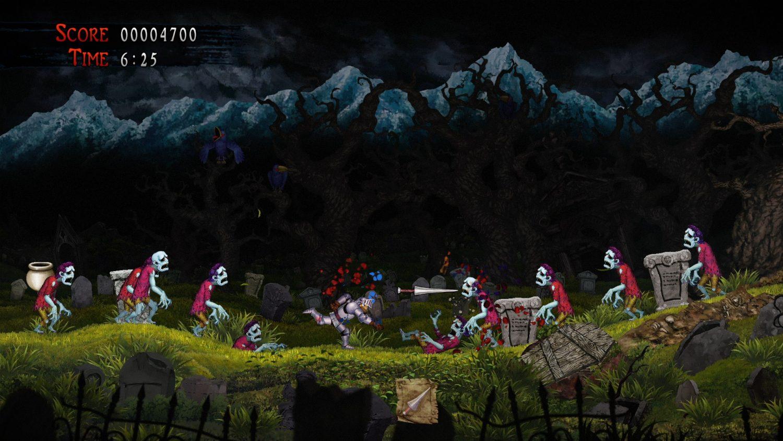 Ghosts 'n Goblins Resurrection début