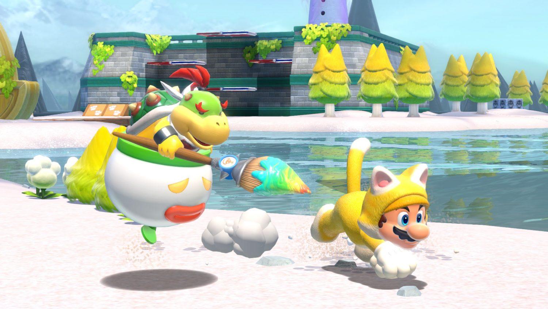 Super Mario 3D World + Bowser's Fury Bowser Jr