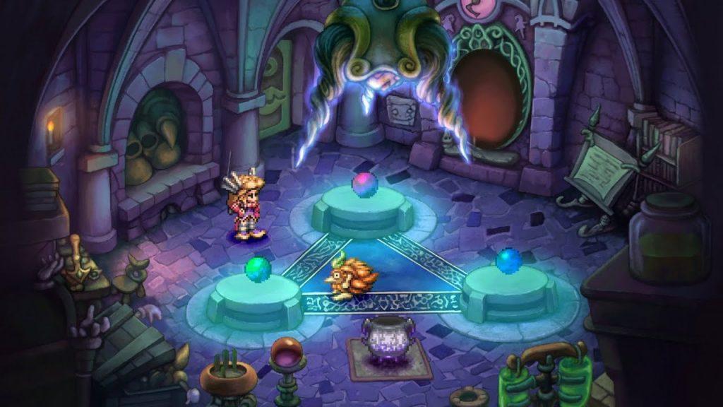 Legend of Mana magie