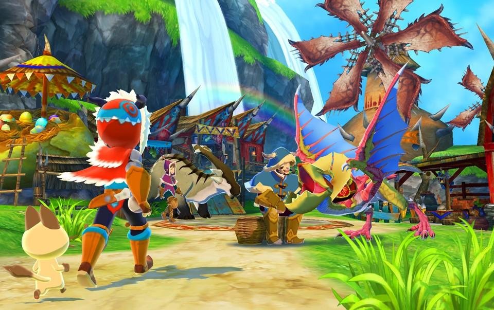 Monster Hunter Stories 2 village