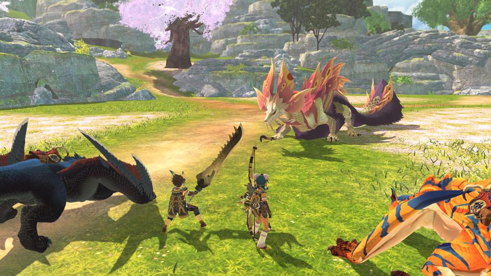Monster Hunter Stories 2 combat